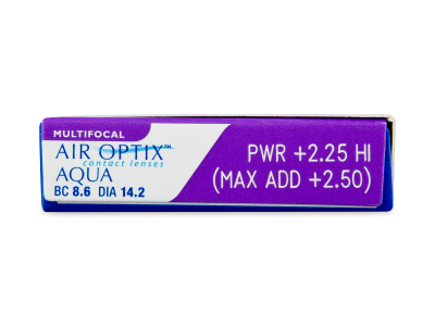 Air Optix Aqua Multifocal (6 lentillas) - Previsualización de atributos