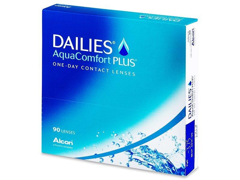 Dailies AquaComfort Plus (90lentillas) - Lentillas diarias desechables
