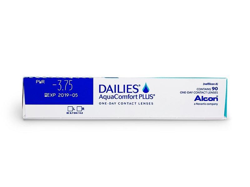 Dailies AquaComfort Plus (90lentillas) - Previsualización de atributos