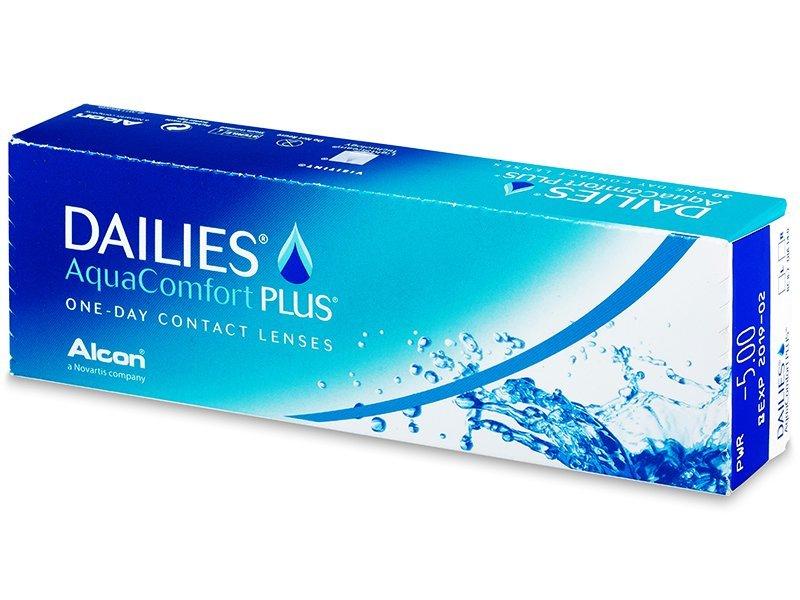 Lentillas diarias desechables - Dailies AquaComfort Plus (30lentillas)
