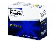 Lentillas Multifocales (Progresivas) - PureVision Multifocal (6lentillas)
