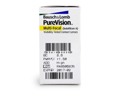 PureVision Multifocal (6lentillas) - Previsualización de atributos