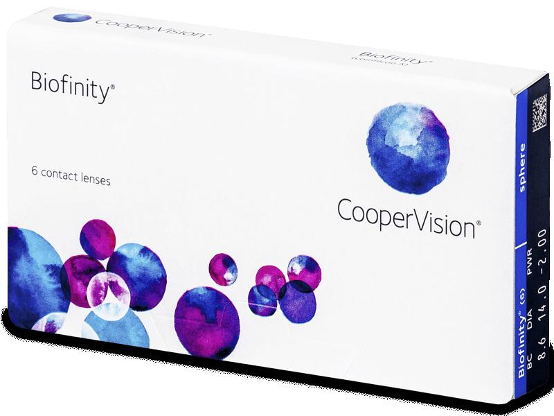 Biofinity (6lentillas) - Lentes de contacto mensuales