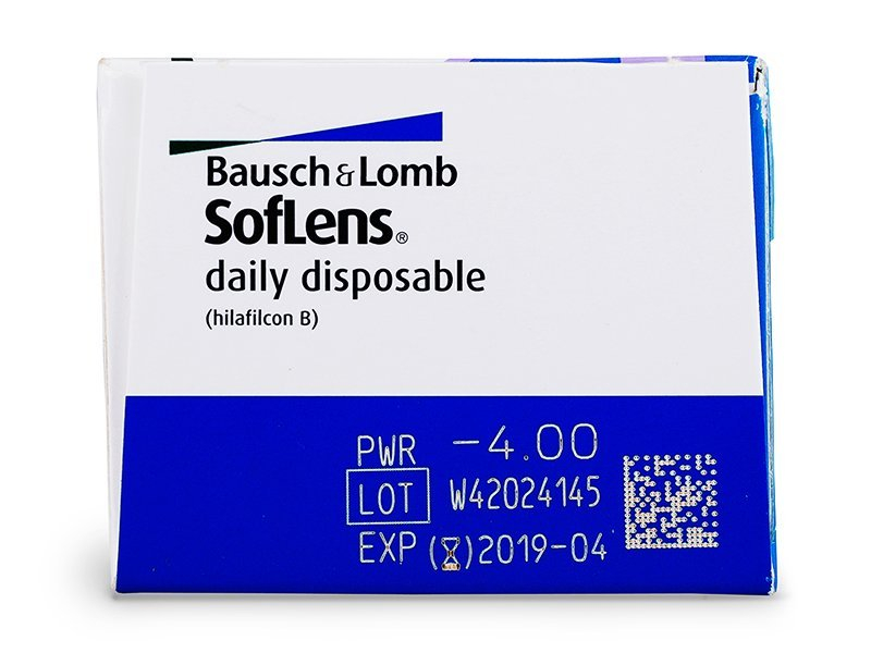 SofLens Daily Disposable (30 lentillas) - Previsualización de atributos