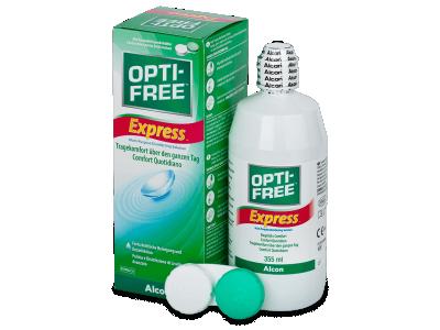 Líquido OPTI-FREE Express 355 ml  - líquido de limpieza