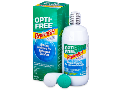 Líquido OPTI-FREE RepleniSH 300ml  - Diseño antiguo