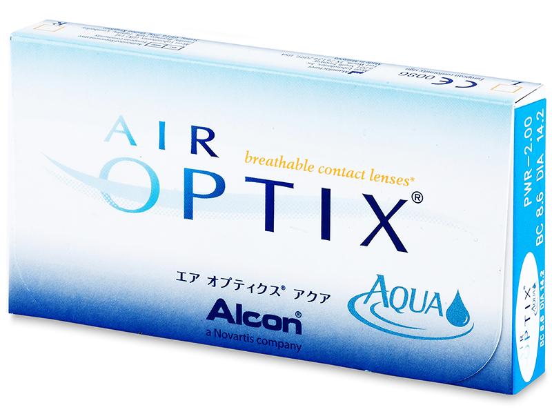 Air Optix Aqua (6lentillas) - Diseño antiguo