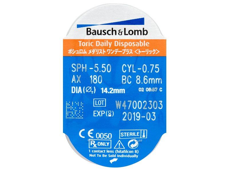 984f64fc6b602 SofLens Daily Disposable Toric (30 lentillas) - Previsualización del blister