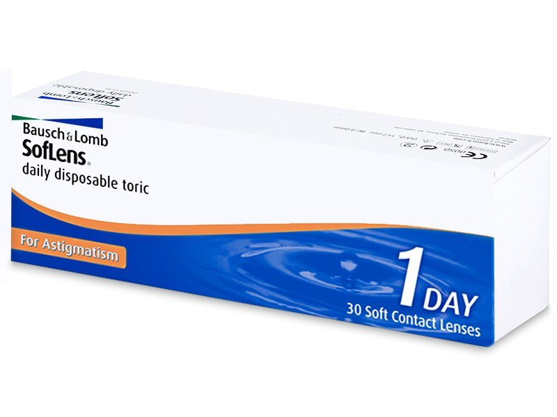 SofLens Daily Disposable Toric (30 lentillas) - Lentillas tóricas