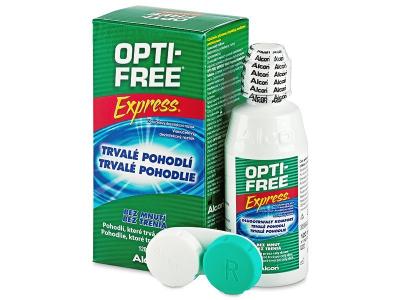 Líquido OPTI-FREE Express 120 ml