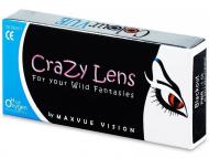 Lentillas Maxvue Vision - ColourVUE - Crazy- Trimestrales Graduadas (2lentillas)