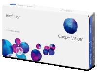 Biofinity (3lentillas) -  Monthly contact lenses