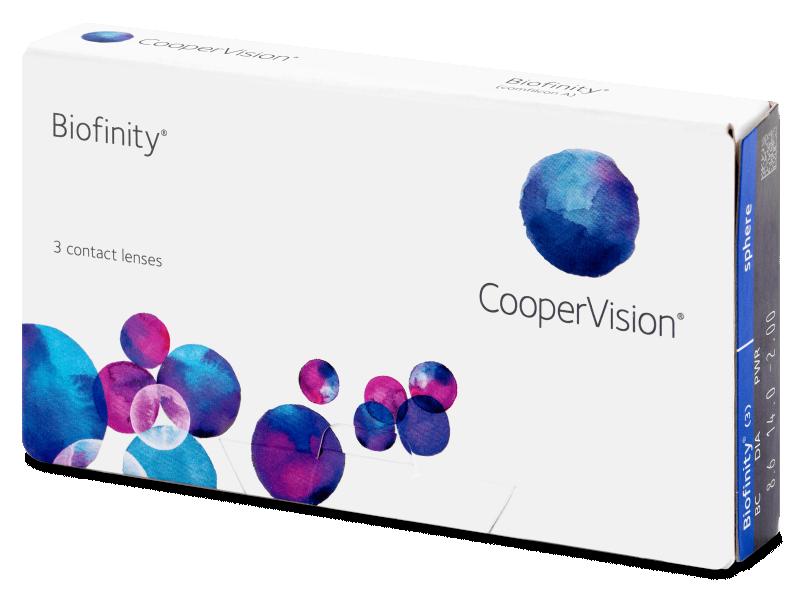 Monthly contact lenses - Biofinity (3lentillas)