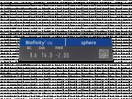 Biofinity (3lentillas) - Previsualización de atributos