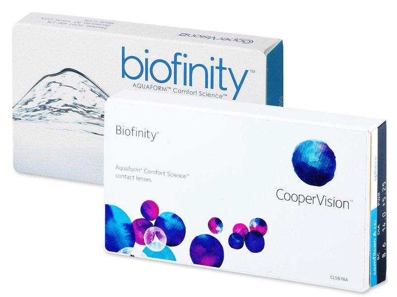 Diseño antiguo - Biofinity (3lentillas)