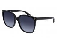 Gafas de sol Talla grande - Gucci GG0022S-001