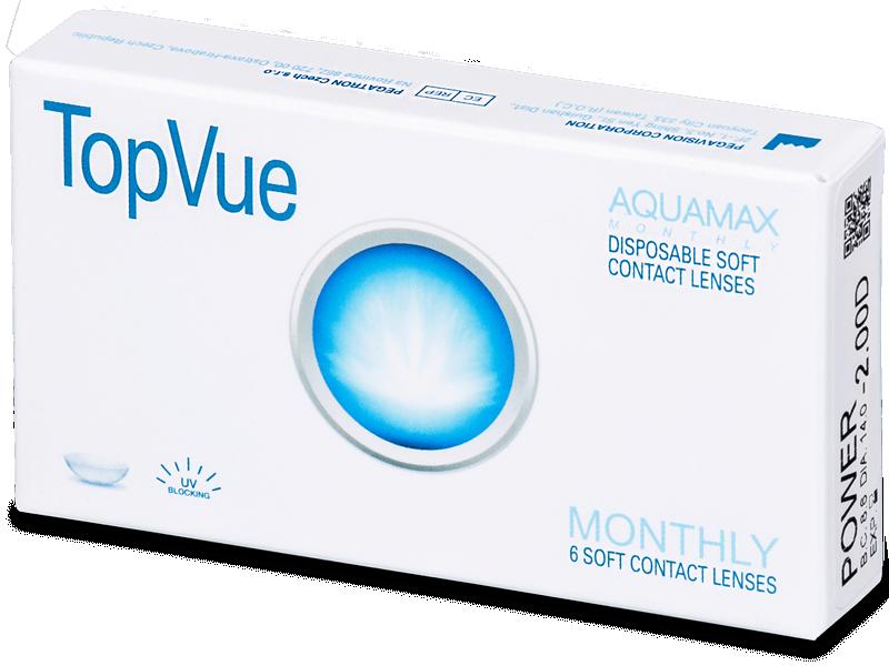 TopVue Monthly (6lentillas) - Lentes de contacto mensuales