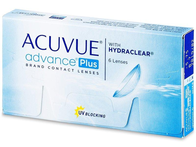 Acuvue Advance PLUS (6lentillas) - Lentillas quincenales