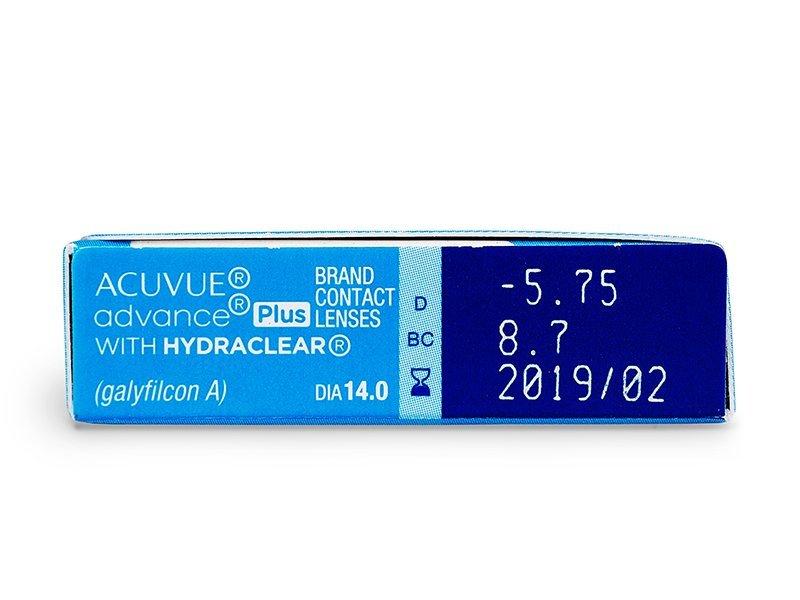 Acuvue Advance PLUS (6lentillas) - Previsualización de atributos