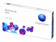 Lentillas para Astigmatismo - Biofinity XR Toric (3 lentillas)