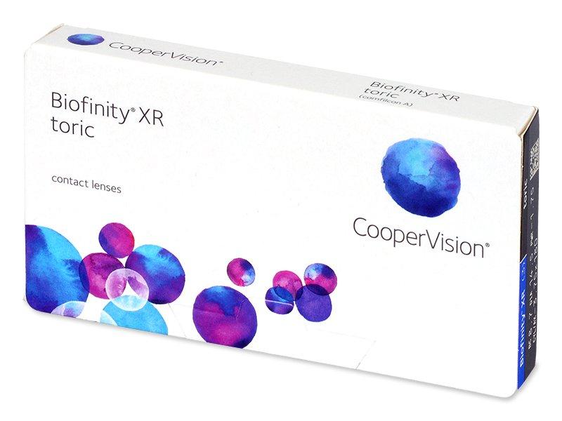 6ce3f042449ed Biofinity XR Toric (3 lentillas) - Lentillas tóricas