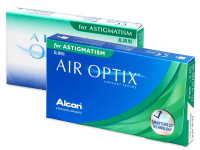Air Optix for Astigmatism (6lentillas)