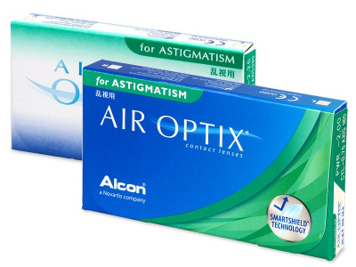 Air Optix for Astigmatism (6 lentillas) - Lentillas tóricas