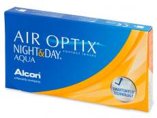 Air Optix Night and Day Aqua (6lentillas) - Lentes de contacto mensuales