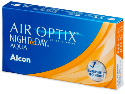 Air Optix Night and Day Aqua (6 lentillas)