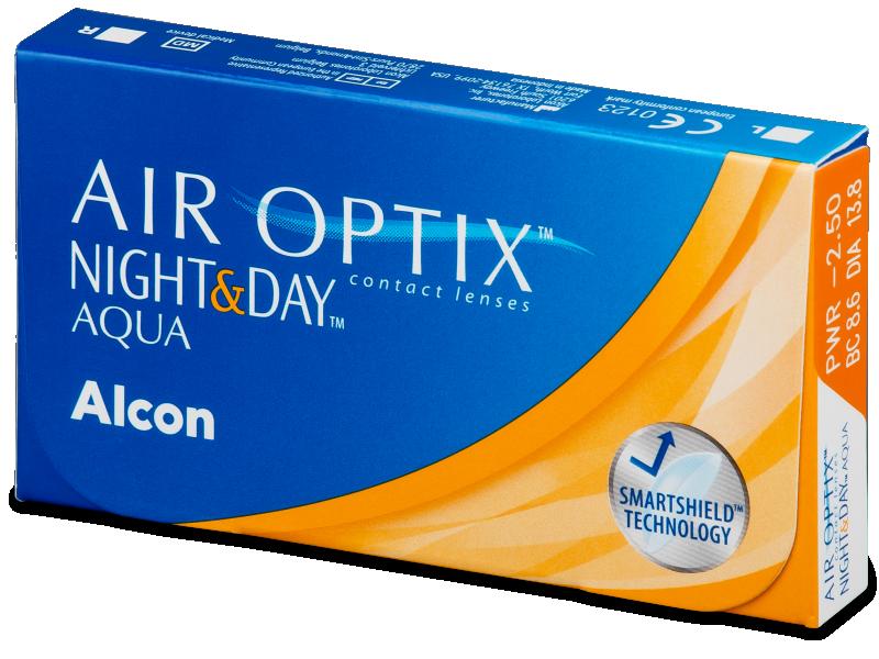 Air Optix Night and Day Aqua (3lentillas) - Lentes de contacto mensuales