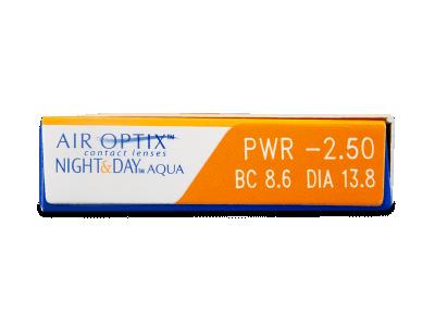 Air Optix Night and Day Aqua (3lentillas) - Previsualización de atributos