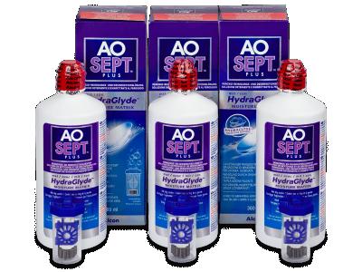 Líquido AO SEPT PLUS HydraGlyde 3 x 360ml