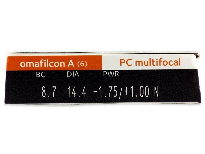 Proclear Multifocal (6 lentillas) - Previsualización de atributos