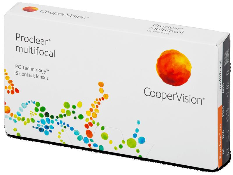 Proclear Multifocal (6 lentillas) - Lentes de contacto multifocales